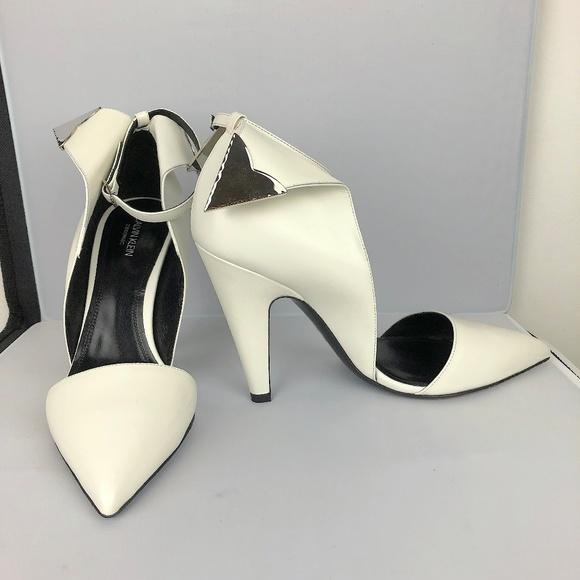 8fdc5896297ea Calvin Klein White Kadence Sandals